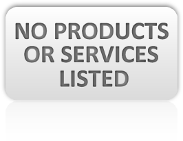 No products or services listed